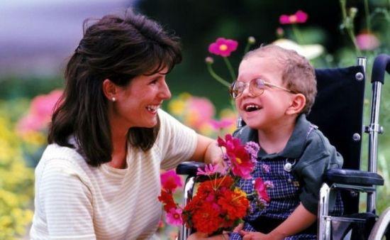 Ребенок-инвалид по зрению