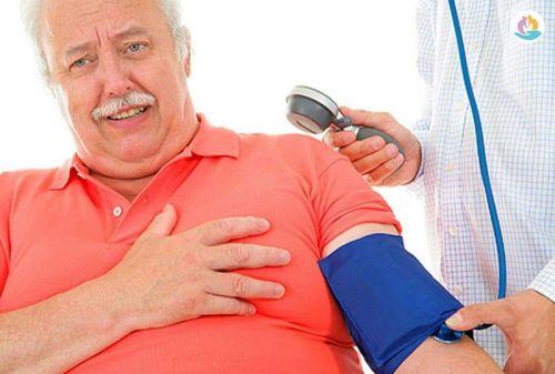 Измерение давления при боли в груди