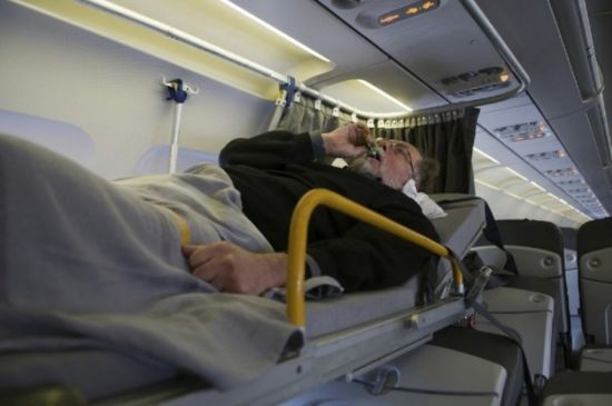 Путешествие в самолете для инвалидов