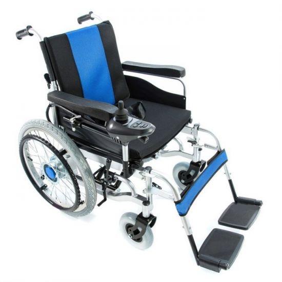 Инвалидная коляска с электродвигателем