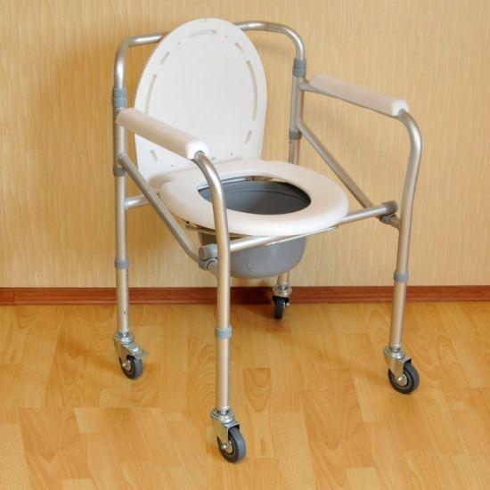Стул-туалет на колесиках