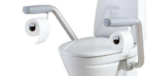 Поручни «Ifo» с держателем для туалетной бумаги