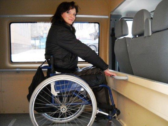Транспортировка инвалида-колясочника