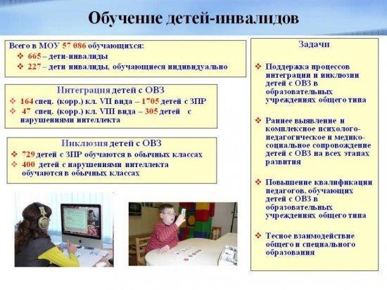 Обучение детей-инвалидов