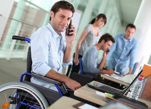 Инвалид на рабочем месте