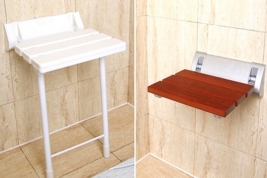 Сиденья и поручни для ванной комнаты