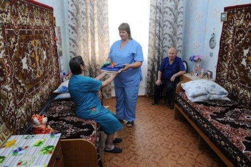В доме-инвалидов
