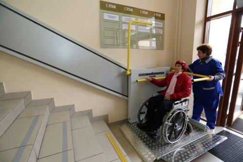 Подъемное устройство для инвалидов