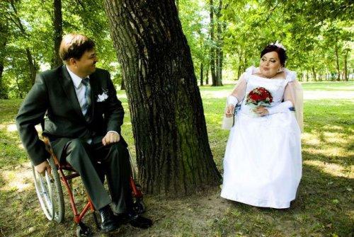 Свадьба инвалидов