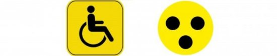 Значки инвалида