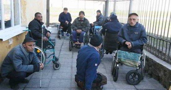 Инвалиды в тюрьме