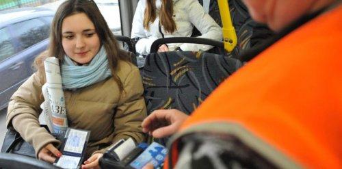 Проверка проездных документов в транспорте