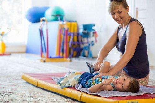 Занятия с ребенком инвалидом