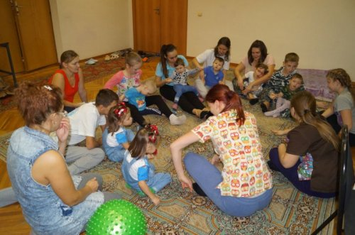 Занятия с детьми-инвалидами