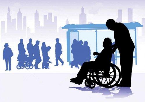 Инвалиды в обществе