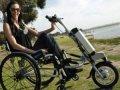 Коляска для инвалидов с приставкой