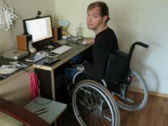 Домашняя инвалидная коляска