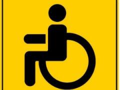 Значок инвалида