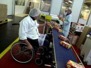 Инвалид на промышленном предприятии
